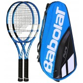 PACK BABOLAT PURE DRIVE 2 RAQUETTES + 1 SAC = -10%