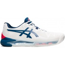 CHAUSSURES ASICS GEL RESOLUTION 8 PARIS TERRE BATTUE
