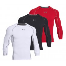 T-SHIRT UNDER ARMOUR MANCHES LONGUES COMPRESSION HEATGEAR