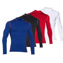 T-SHIRT COL ROULE UNDER ARMOUR MANCHES LONGUES COLDGEAR