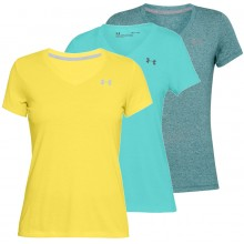 T-SHIRT UNDER ARMOUR FEMME THREADBORNE TWIST