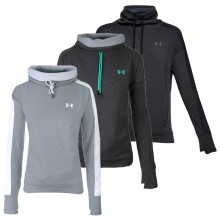 SWEAT UNDER ARMOUR FEMME FEATHERWEIGHT FLEECE FUNNEL