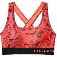 BRASSIERE UNDER ARMOUR CROSSBACK PRINTED