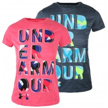 T-SHIRT UNDER ARMOUR JUNIOR HYBRID BIG LOGO 2.0