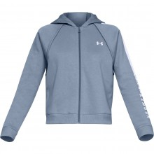 SWEAT UNDER ARMOUR FEMME A CAPUCHE ZIPPE RIVAL FLEECE