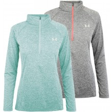 T-SHIRT UNDER ARMOUR FEMME MANCHES LONGUES TWIST 1/2 ZIPPE