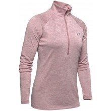 T-SHIRT UNDER ARMOUR FEMME MANCHES LONGUES TWIST 1/2 ZIP