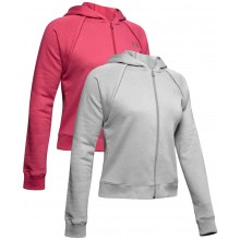 SWEAT A CAPUCHE UNDER ARMOUR ZIPPE FEMME RIVAL FLEECE