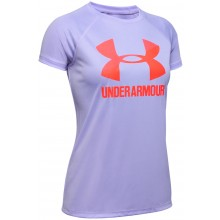 T-SHIRT UNDER ARMOUR JUNIOR FILLE TECH BIG LOGO SOLID