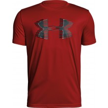 T-SHIRT UNDER ARMOUR JUNIOR TECH BIG LOGO SOLID