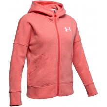 SWEAT UNDER ARMOUR JUNIOR FILLE RIVAL FULL ZIP