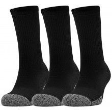 3 PAIRES DE CHAUSSETTES UNDER ARMOUR HEATGEAR CREW