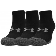 3 PAIRES DE CHAUSSETTES UNDER ARMOUR HEATGEAR LO CUT