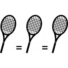 Matching de 3 raquettes