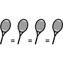 Matching de 4 raquettes