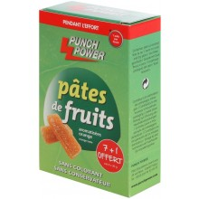 8 PÂTES DE FRUITS PUNCH POWER ORANGE