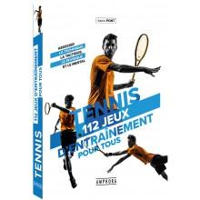 LIVRE TENNIS 112 JEUX D'ENTRAINEMENT POUR TOUS
