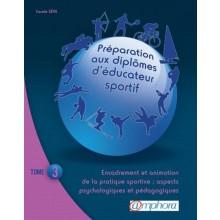 LIVRE PREPARATION AUX DIPLOMES D'EDUCATEUR SPORTIF - TOME 3