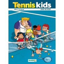 LIVRE TENNIS KIDS T02 COUP DE FILET