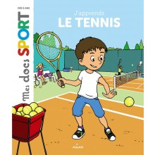 LIVRE J'APPRENDS LE TENNIS
