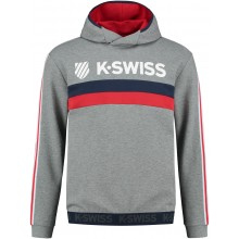 SWEAT A CAPUCHE K-SWISS HERITAGE MIXTE
