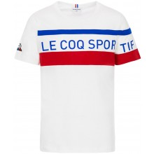 T-SHIRT  LE COQ SPORTIF JUNIOR TRICOLORE