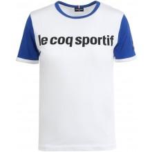 T-SHIRT LE COQ SPORTIF JUNIOR TRICOLORE N°1