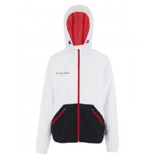VESTE A CAPUCHE TECNIFIBRE JUNIOR FILLE FLASH LIGHT CLUB