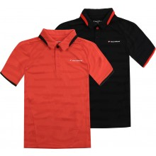POLO TECNIFIBRE JUNIOR CLUB F4 VENT STRIPE