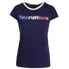 T-SHIRT TECNIFIBRE FEMME COTTON TRICOLORE