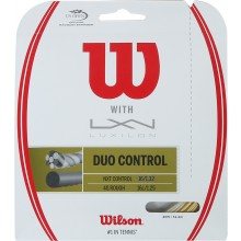 CORDAGE WILSON DUO CONTROL: LUXILON 4G & WILSON NXT CONTROL 1.25 (12.20 METRES)