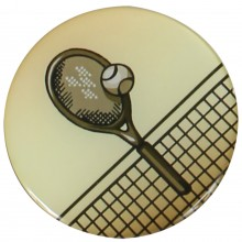 PASTILLES MEDAILLE TENNIS (EPOXY - 50MM)