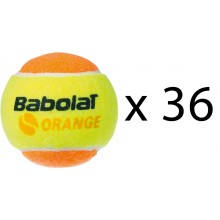 RECHARGE 36 BALLES BABOLAT ORANGE