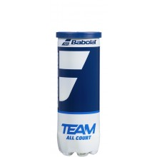 TUBE DE 3 BALLES BABOLAT TEAM ALL COURT