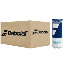 CARTON DE 24 TUBES DE 3 BALLES BABOLAT GOLD ALL COURT