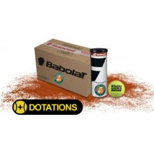 CARTON DE 30 TUBES DE 3 BALLE OPEN CLAY COURT