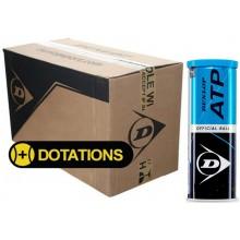 CARTON DE 24 TUBES DE 3 BALLES DUNLOP ATP