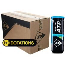 CARTON DE 24 TUBES DE 3 BALLES DUNLOP ATP CHAMPIONSHIP