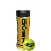TUBE DE 3 BALLES HEAD TOUR XT
