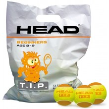 SACHETS DE 72 BALLES HEAD TIP ORANGE