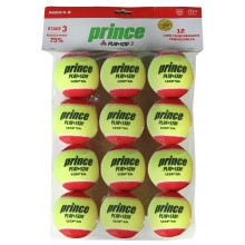 SACHET 12 BALLES PRINCE STAGE 3 RED FELT
