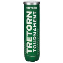 TUBE DE 4 BALLES DE TENNIS TRETORN TOURNAMENT