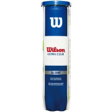 TUBE DE 4 BALLES WILSON ULTRA CLUB