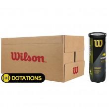 CARTON DE 24 TUBES DE 3 BALLES WILSON US OPEN