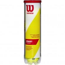 TUBE 4 BALLES WILSON CHAMPIONSHIP