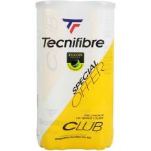 BIPACK DE 4 BALLES TECNIFIBRE CLUB