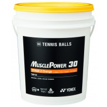 BARIL DE 60 BALLES YONEX TMP-30 ORANGE