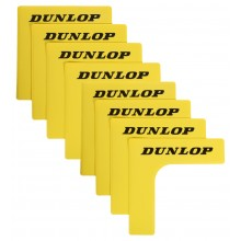 LOT DE 8 ANGLES DE COURT DUNLOP