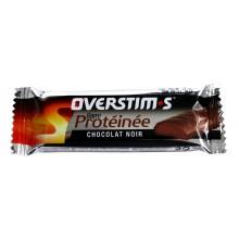 BARRE HYPERPROTEINNEE OVERSTIM-S - AROME CHOCOLAT NOIR