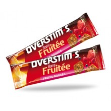 BARRE FRUITEE OVERSTIM-S - AROME FRUITS ROUGES